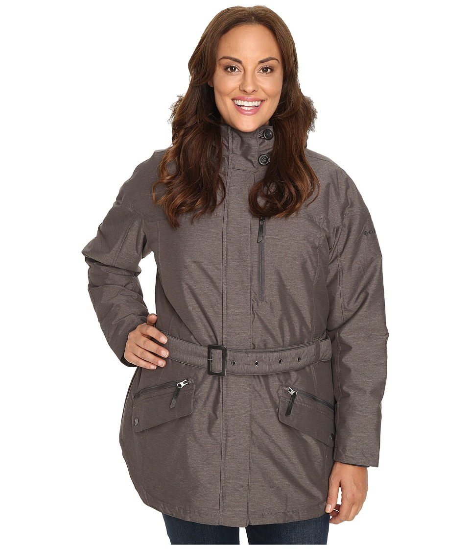 Columbia - Plus Size Carson Pass II Jacket (Mineshaft) Women's Coat