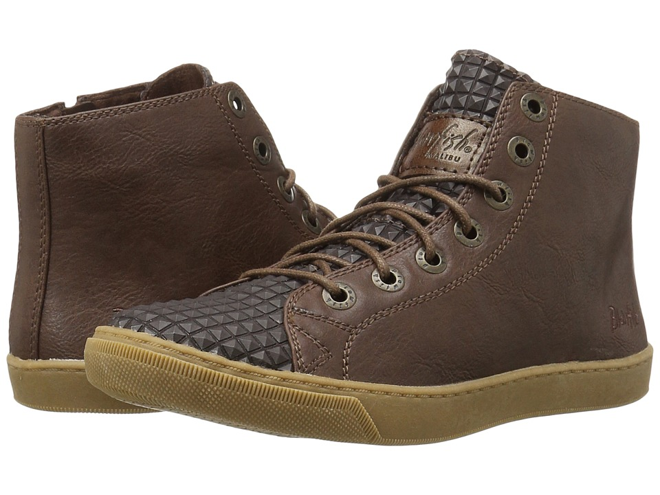 Blowfish - Poug (Chocolate Old Ranger PU/Brown Non Skid) Women's Lace-up Boots
