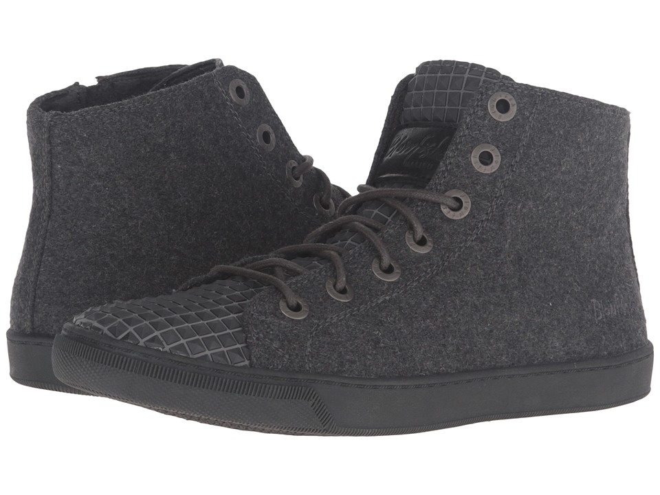 Blowfish - Poug (Grey Two-Tones Flannel/Non Skid PU) Women's Lace-up Boots