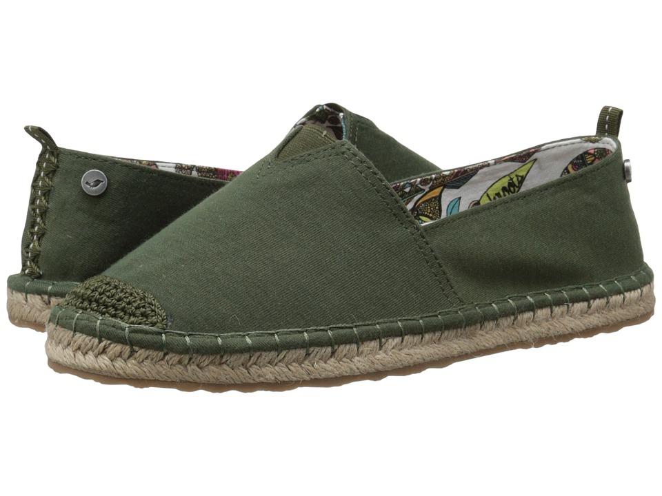 Sakroots - Ella Origin (Olive) Women's Boots