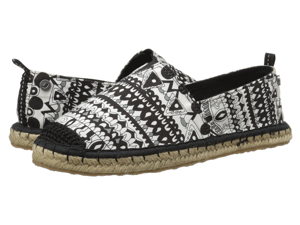 Sakroots Ella (Black/White One World) Women