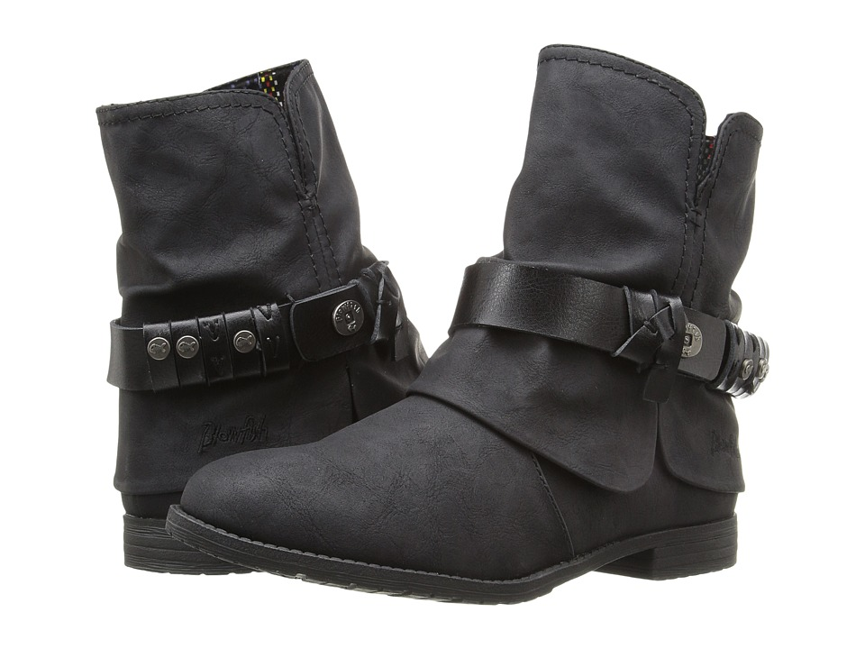 Blowfish - Tram (Black Texas PU/Dyecut PU) Women's Boots