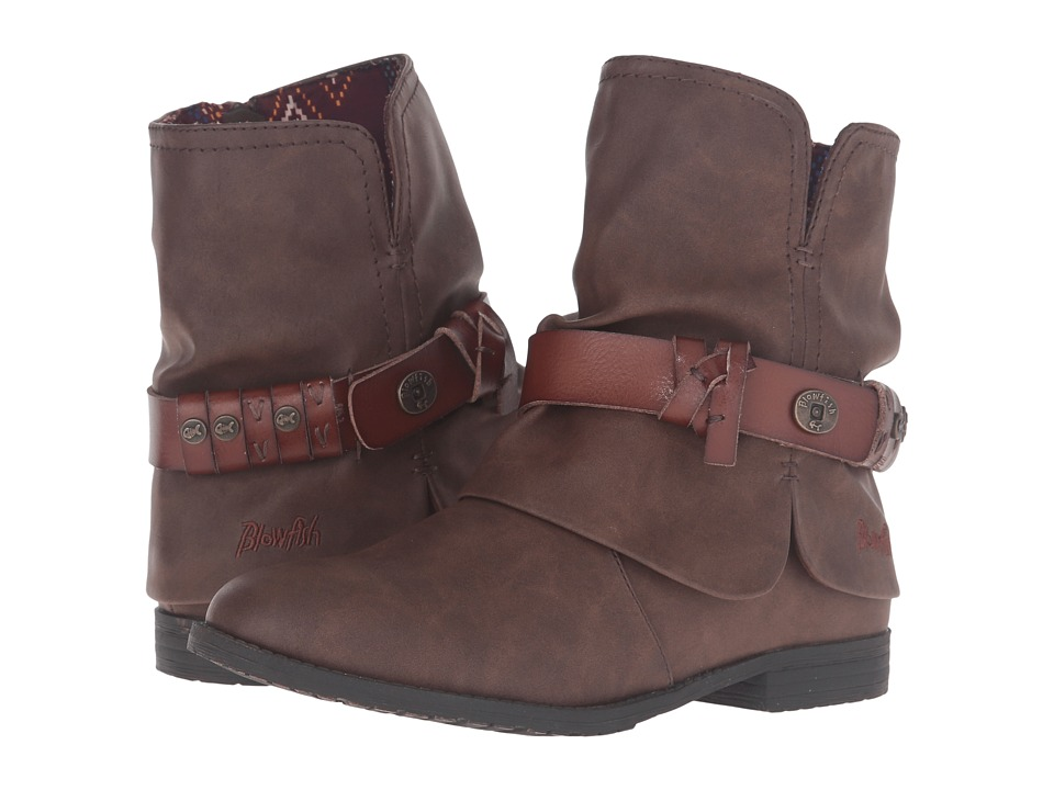 Blowfish - Tram (Coffee Texas PU/Whiskey Dyecut) Women's Boots