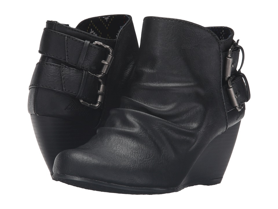 Blowfish Bug Black Old Ranger PU Womens Boots