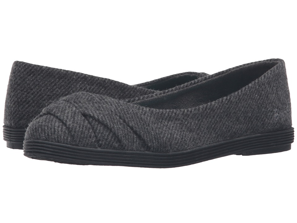 Blowfish - Glo 2 (Grey Covent Tweed) Women's Slip on Shoes
