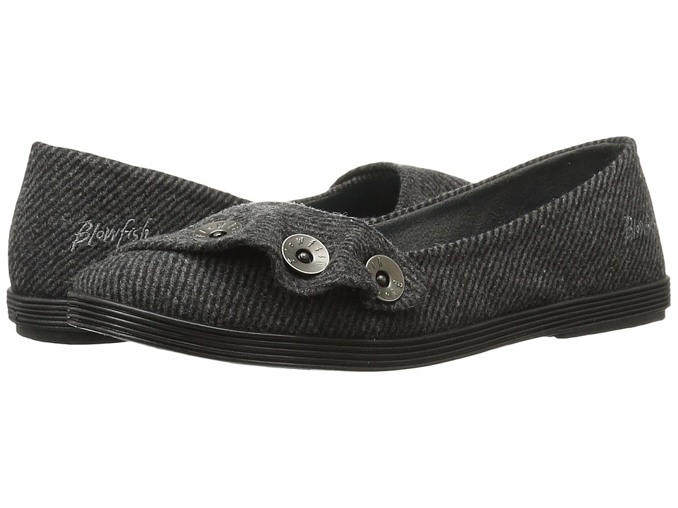 Blowfish - Garamel (Grey Covent Tweed) Women's Slip on Shoes