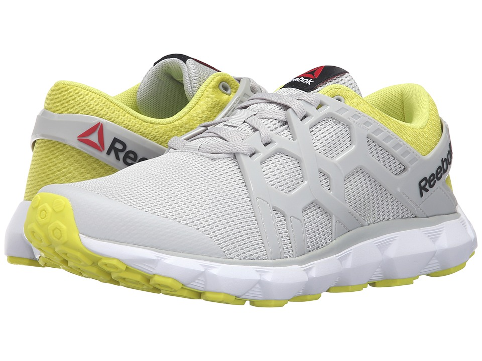 Reebok Hexaffect Run 4.0 MTM (Skull Grey/Hero Yellow/White) Men