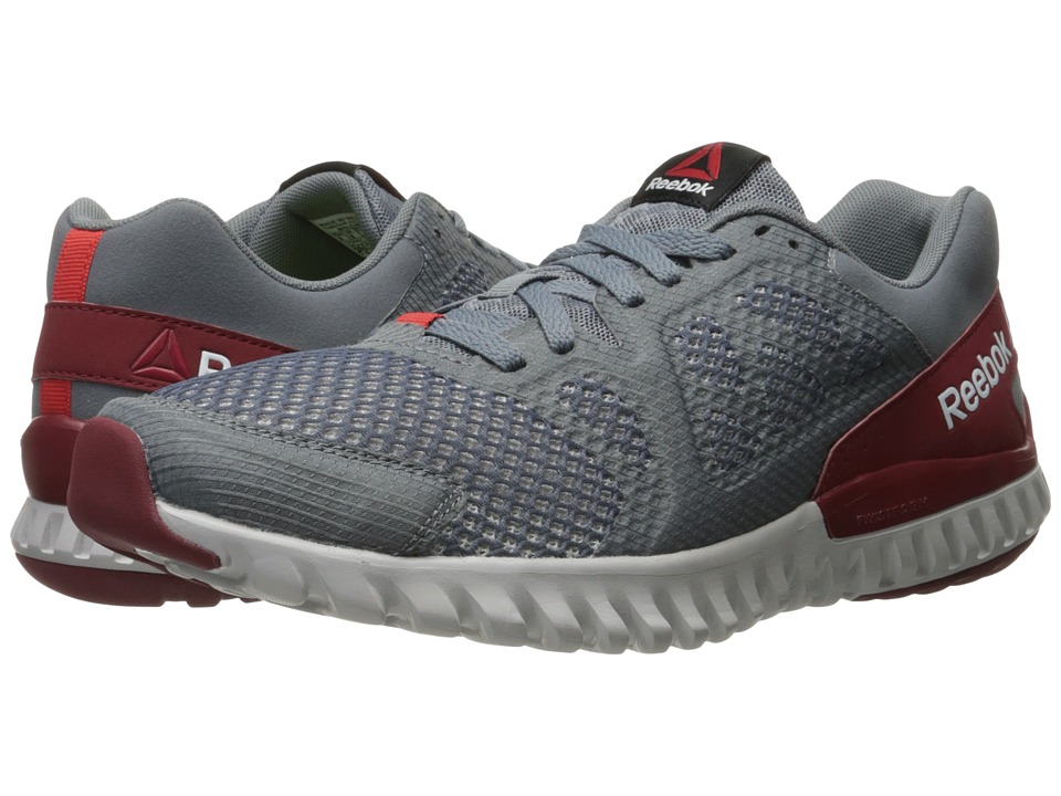 Reebok - Twistform Blaze 2.0 MTM (Asteroid Dust/Merlot Metallic/Riot Red/Merlot/Steel) Men's Running Shoes