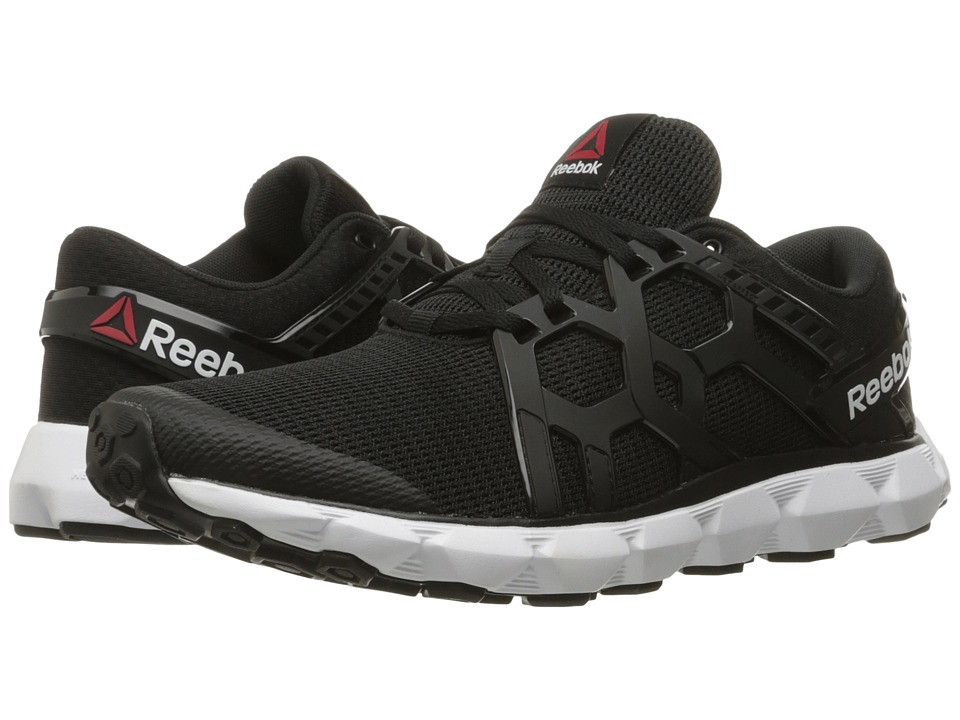 Reebok - Hexaffect Run 4.0 MTM (Black/White) Men's Running Shoes
