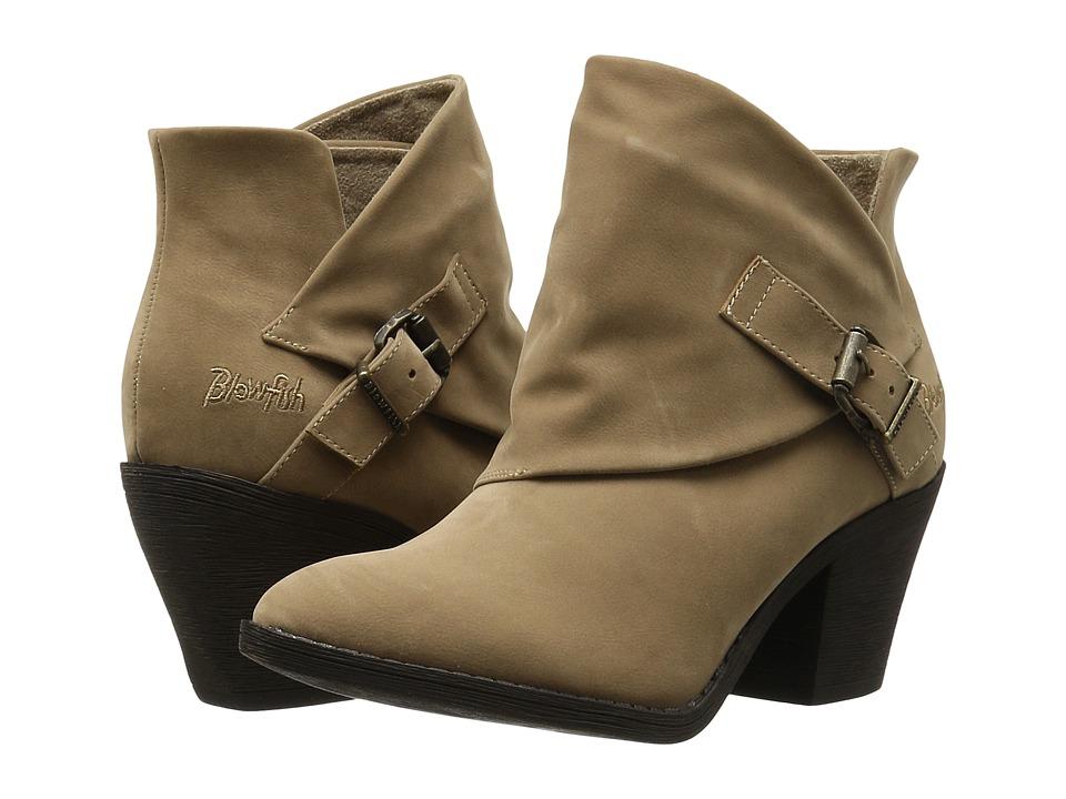 Blowfish - Suba (Wheat Fawn PU) Women's Zip Boots