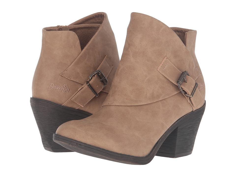 Blowfish - Suba (Sand Texas PU) Women's Zip Boots