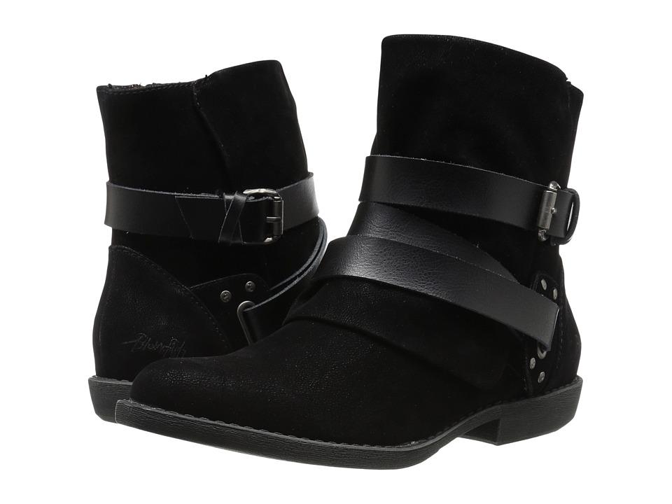 Blowfish - Alias (Black Fawn PU/Dyecut PU) Women's Boots