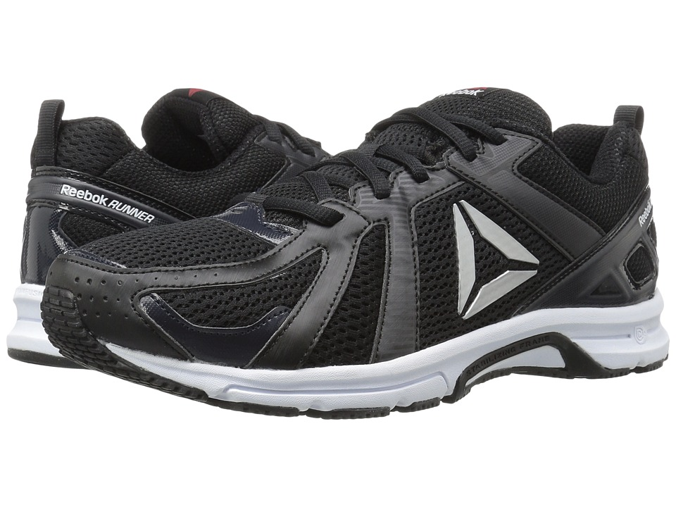 Reebok Runner (Black/Coal/White) Men