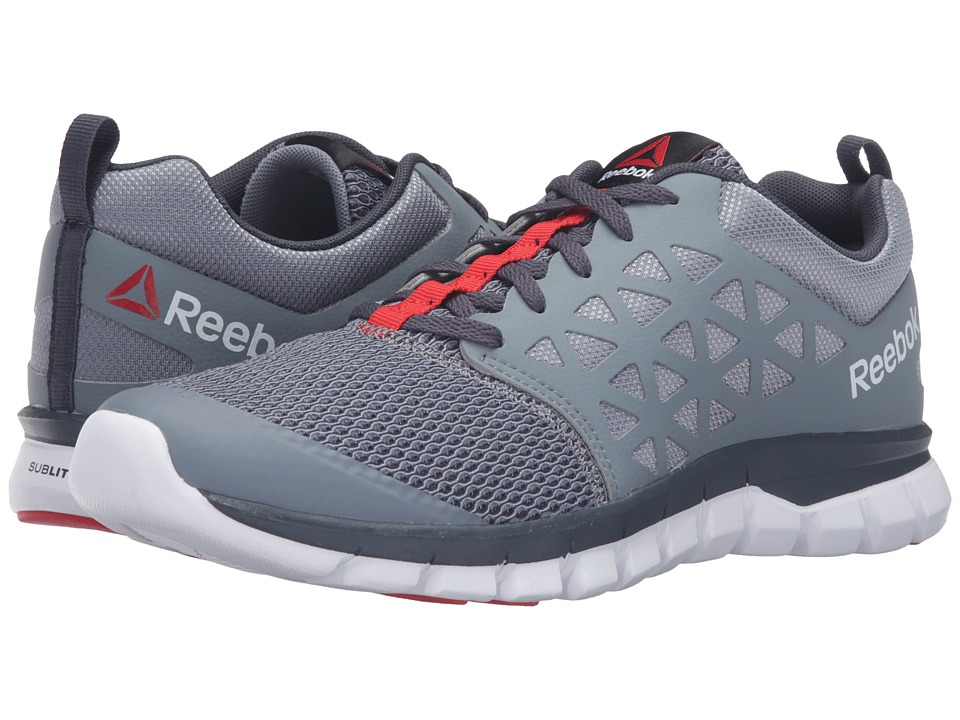 Reebok - Sublite XT Cushion 2.0 MT (Asteroid Dust/Smokey Black/White/Riot Red) Men's Running Shoes