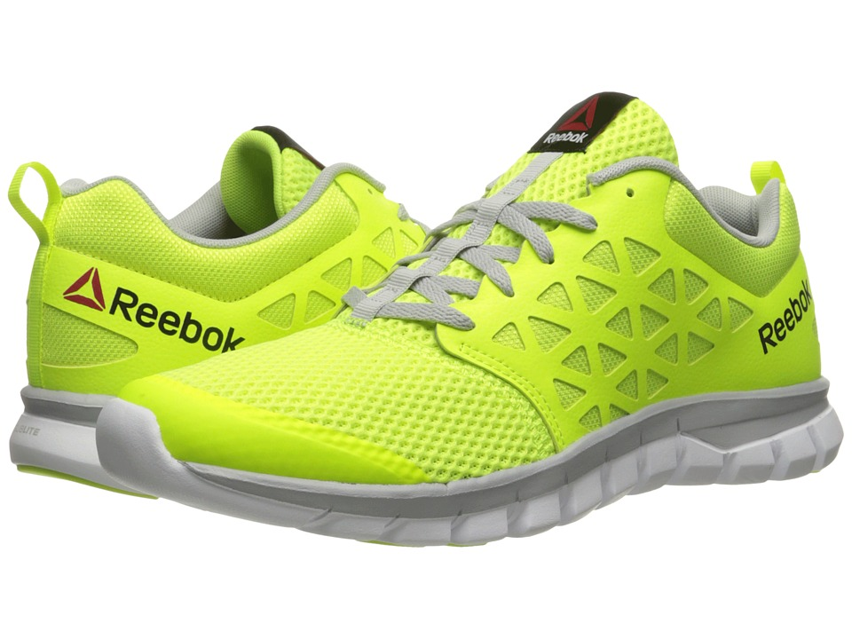 Reebok - Sublite XT Cushion 2.0 MT (Solar Yellow/Skull Grey/White) Men's Running Shoes