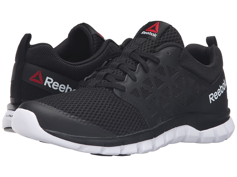 Reebok - Sublite XT Cushion 2.0 MT (Black/White) Men's Running Shoes