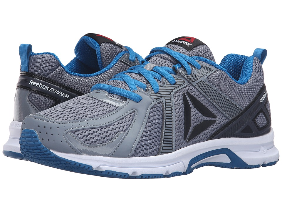 Reebok - Runner (Asteroid Dust/Ash Grey/Black/Instinct Blue/White) Men's Running Shoes
