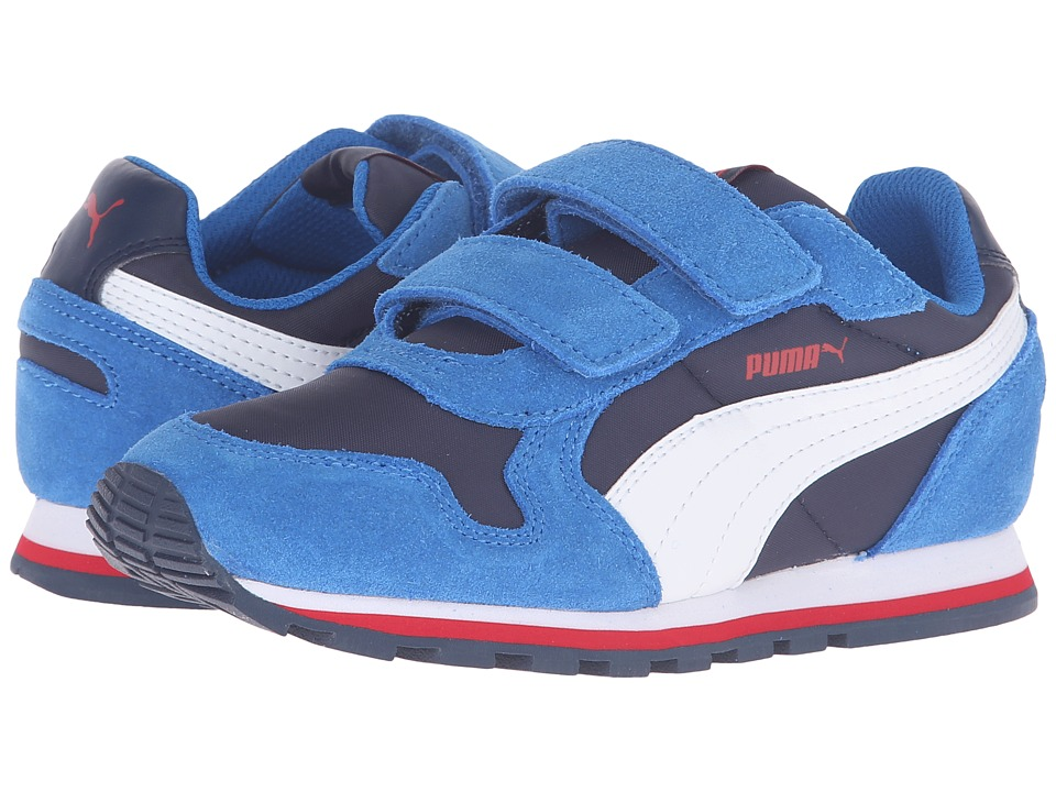 Puma Kids - ST Runner NL V PS (Little Kid) (Peacoat/Puma White) Boys Shoes