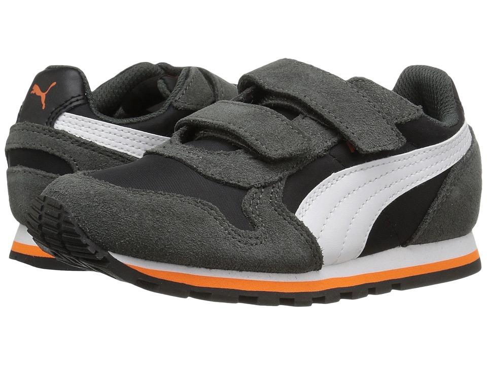 Puma Kids ST Runner NL V PS (Little Kid) (Puma Black/Puma White) Boys Shoes