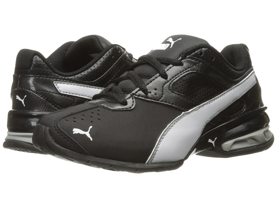 Puma Kids - Tazon 6 SL PS (Little Kid/Big Kid) (Puma Black/Puma White/Puma Silver) Boys Shoes