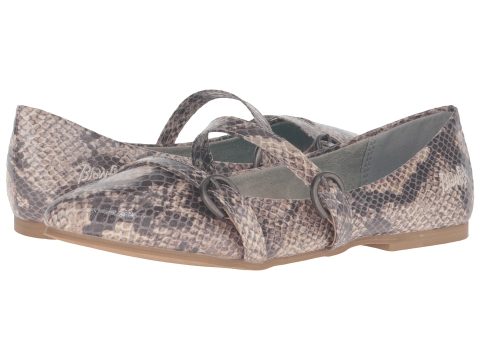 Blowfish Zaza (Grey Mercury Snake PU) Women