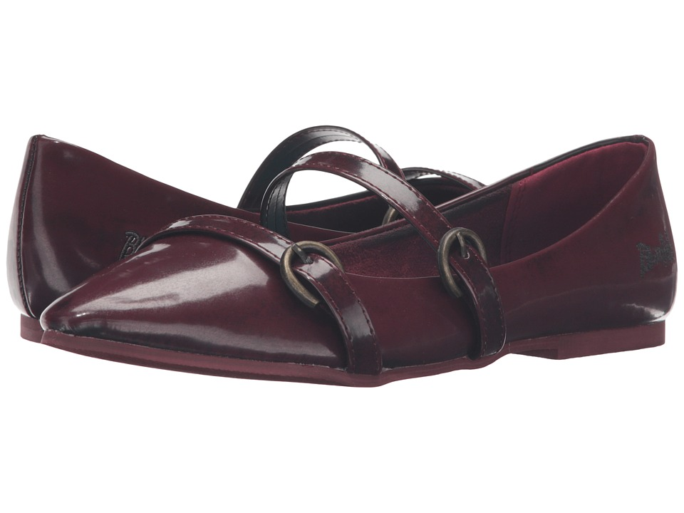 Blowfish Zaza (Oxblood Boxtop Ruboff PU) Women
