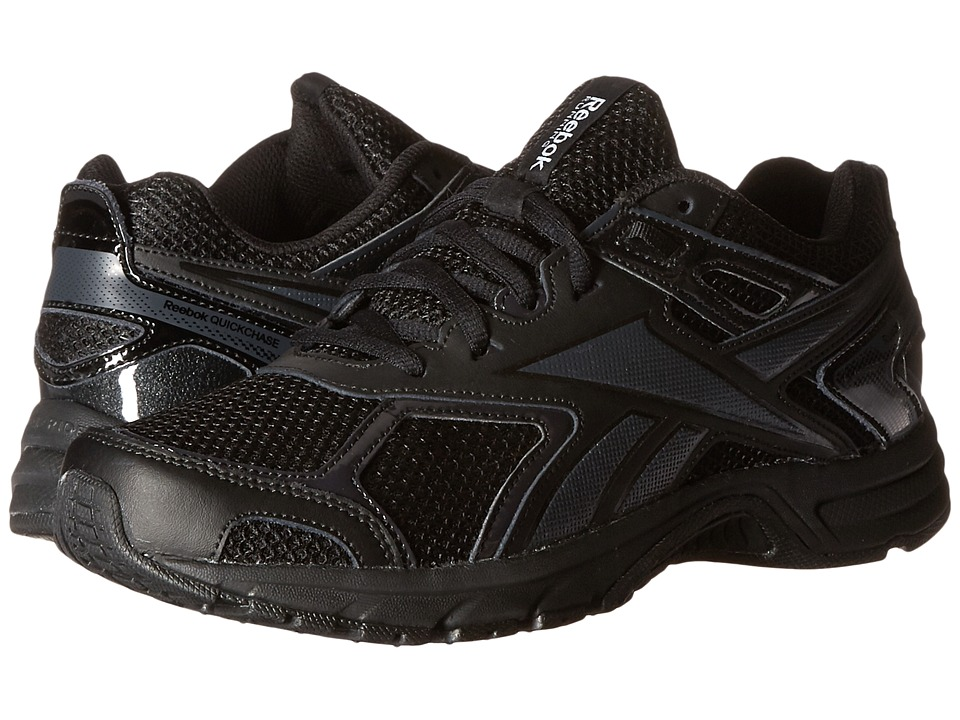 Reebok - Quickchase Run (Black/Coal) Men