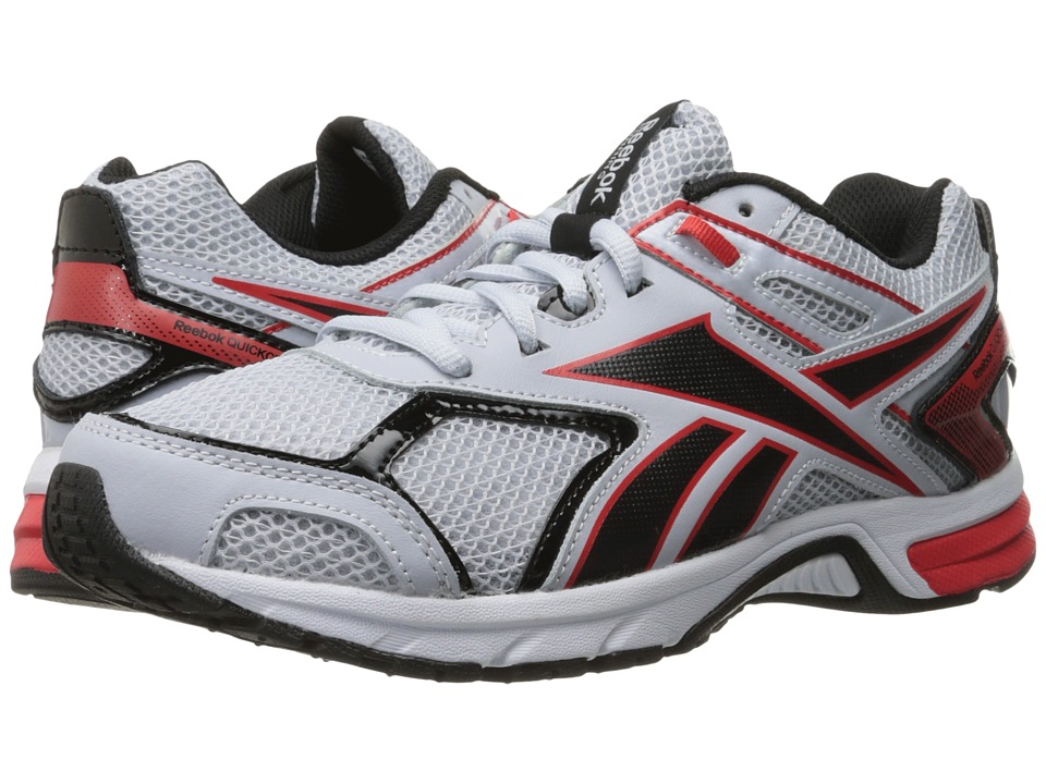 Reebok - Quickchase Run (Cloud Grey/Riot Red/Black/White) Men's Running Shoes
