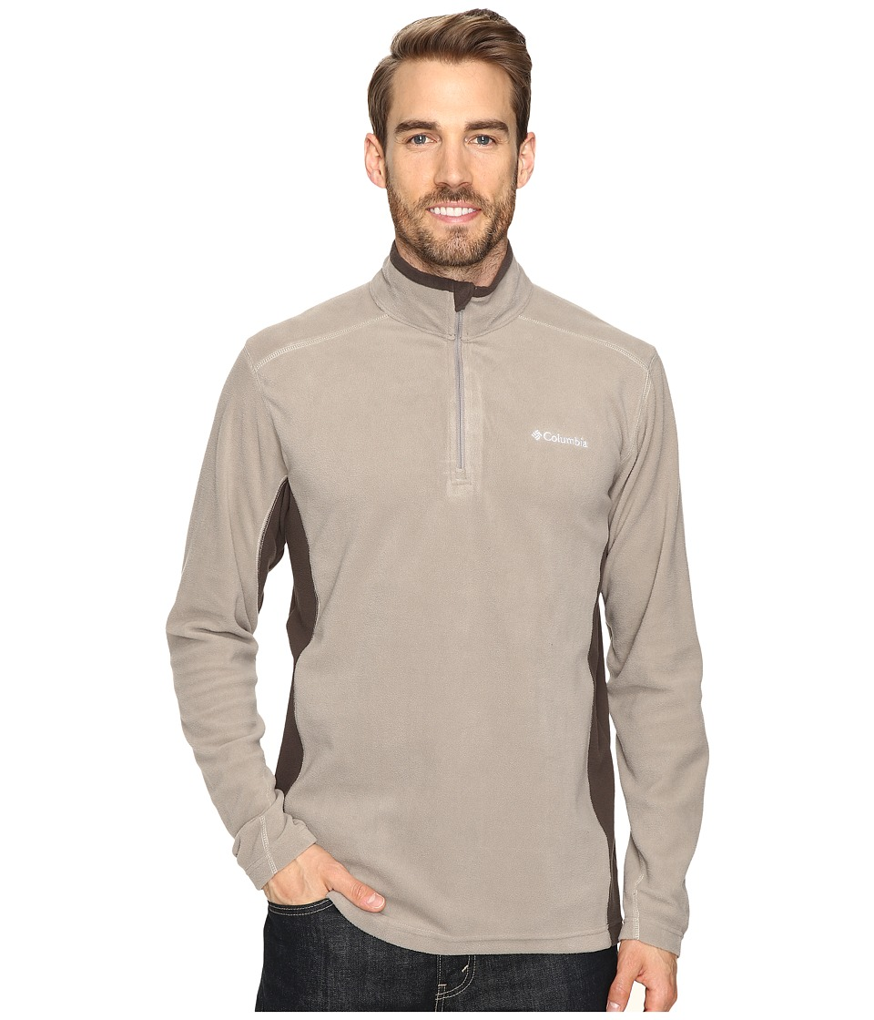 Columbia - Klamath Range II Half Zip (Kettle) Men's Long Sleeve Pullover