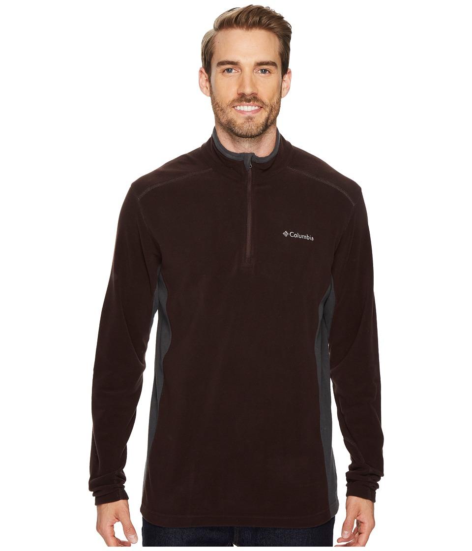 Columbia - Klamath Rangetm II Half Zip (New Cinder/Shark) Men's Long Sleeve Pullover