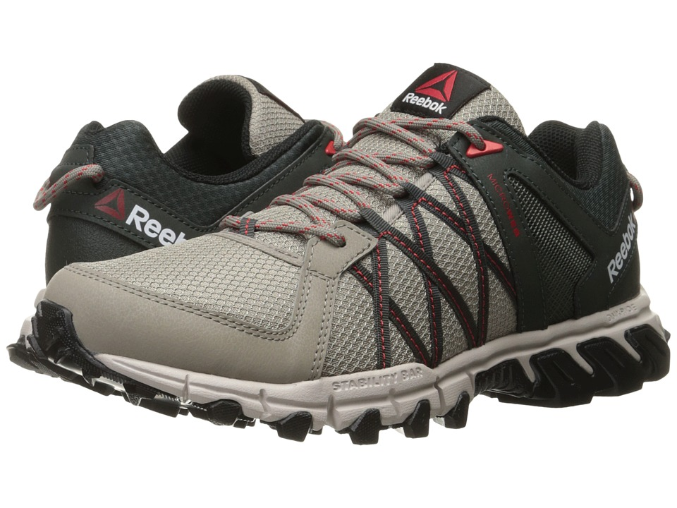 Reebok - Trailgrip RS 5.0 (Beach Stone/Dark Sage/Sand Stone/Riot Red/Black) Men