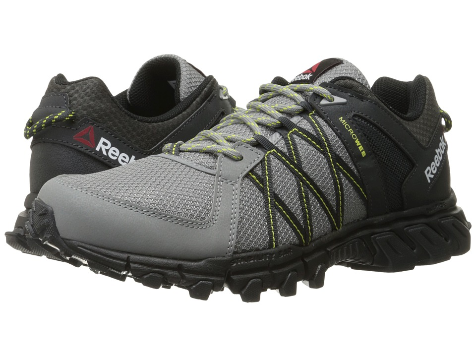 Reebok - Trailgrip RS 5.0 (Flat Grey/Gravel/Hero Yellow/Black) Men's Shoes