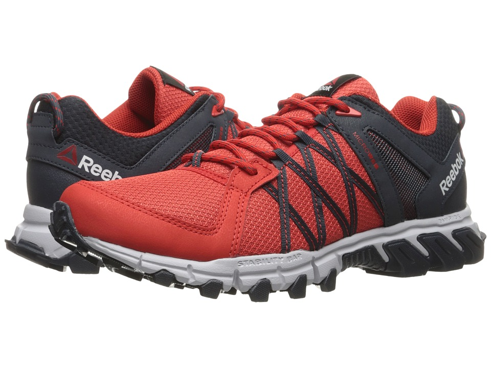 Reebok - Trailgrip RS 5.0 (Riot Red/Smokey Black/Cloud Grey) Men's Shoes