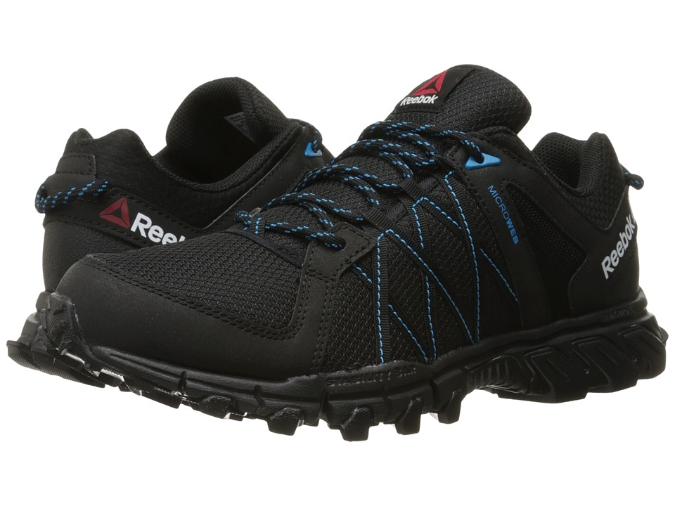 Reebok - Trailgrip RS 5.0 (Black/Wild Blue/Coal) Men's Shoes