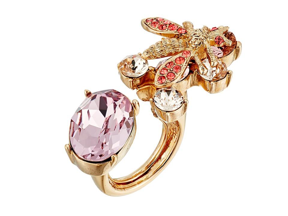 Oscar de la Renta - Crystal Bee Ring (Soft Petal) Ring