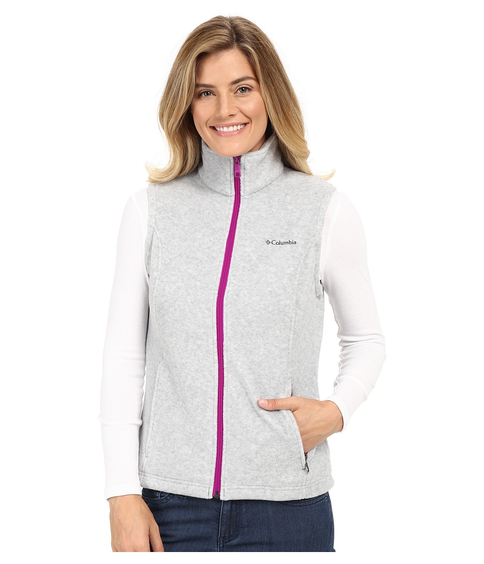 Columbia - Benton Springs Vest (Light Grey Heather) Women's Vest