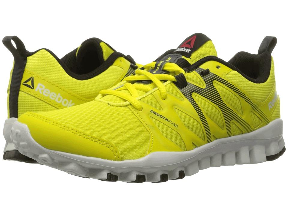 Reebok - RealFlex Train 4.0 (Hero Yellow/Coal/Skull Grey/Black) Men's Cross Training Shoes