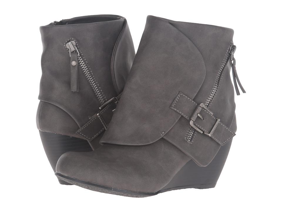 Blowfish - Bilocate (Grey Texas PU) Women's Dress Zip Boots