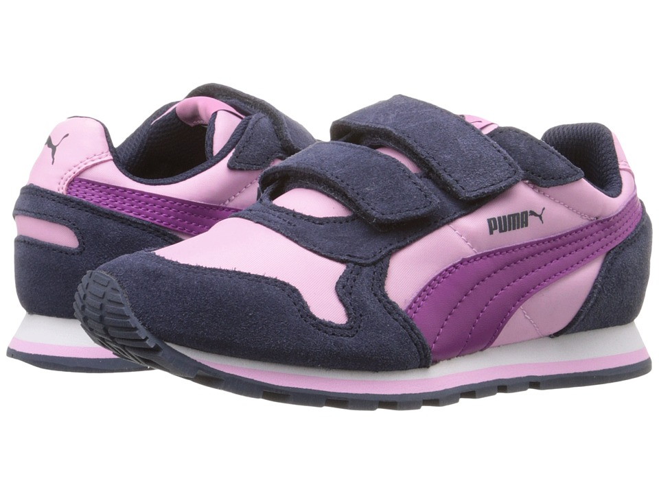 Puma Kids - ST Runner NL V PS (Little Kid/Big Kid) (Pastel Lavender/Puma White) Girls Shoes
