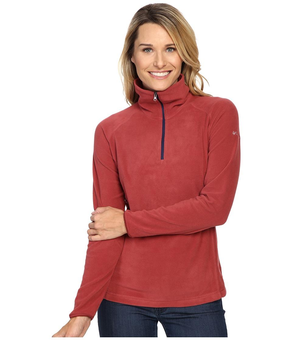 Columbia - Glacial Fleece III 1/2 Zip (Marsala Red) Women's Coat
