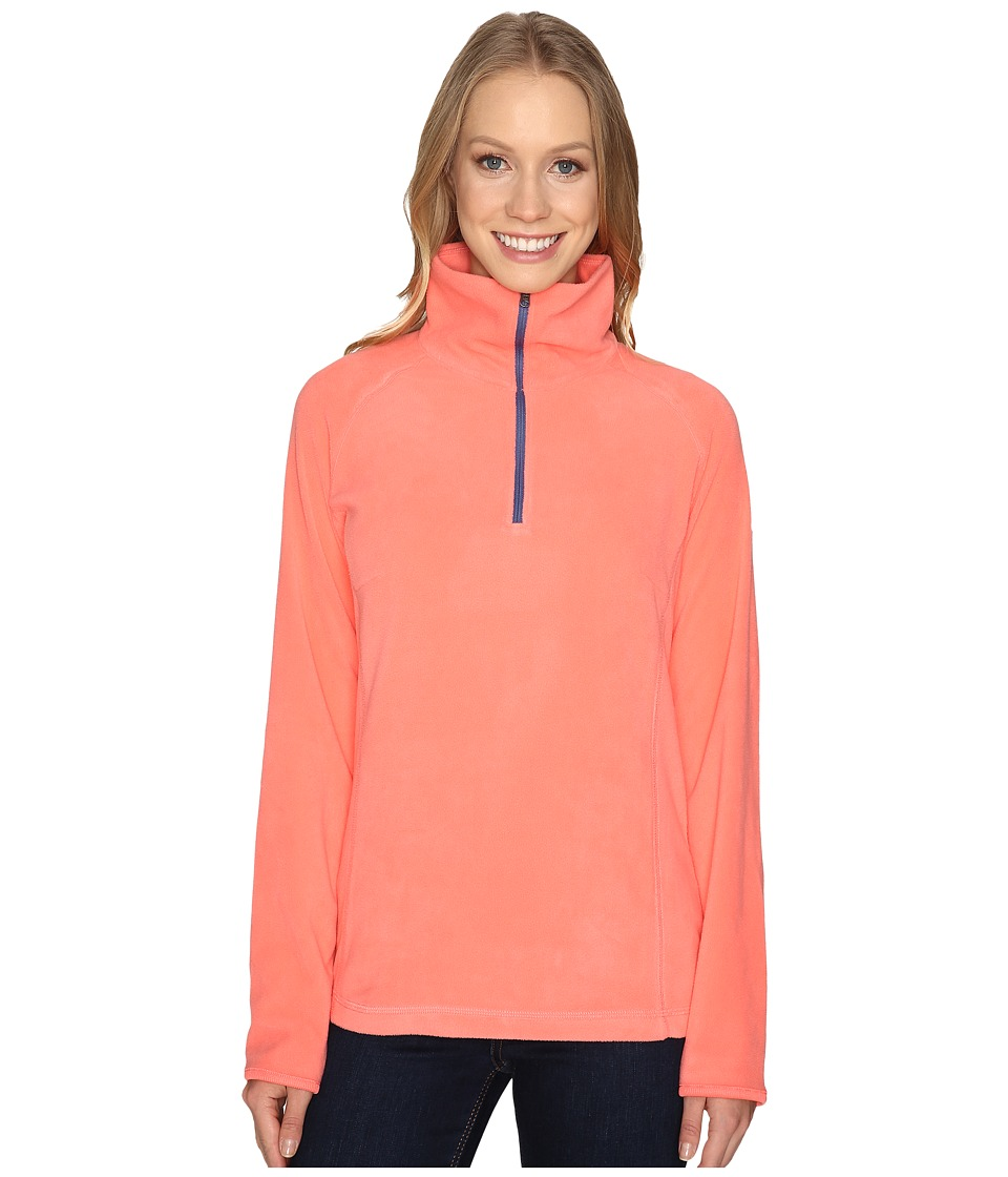 Columbia - Glacial Fleece III 1/2 Zip (Hot Coral) Women's Coat