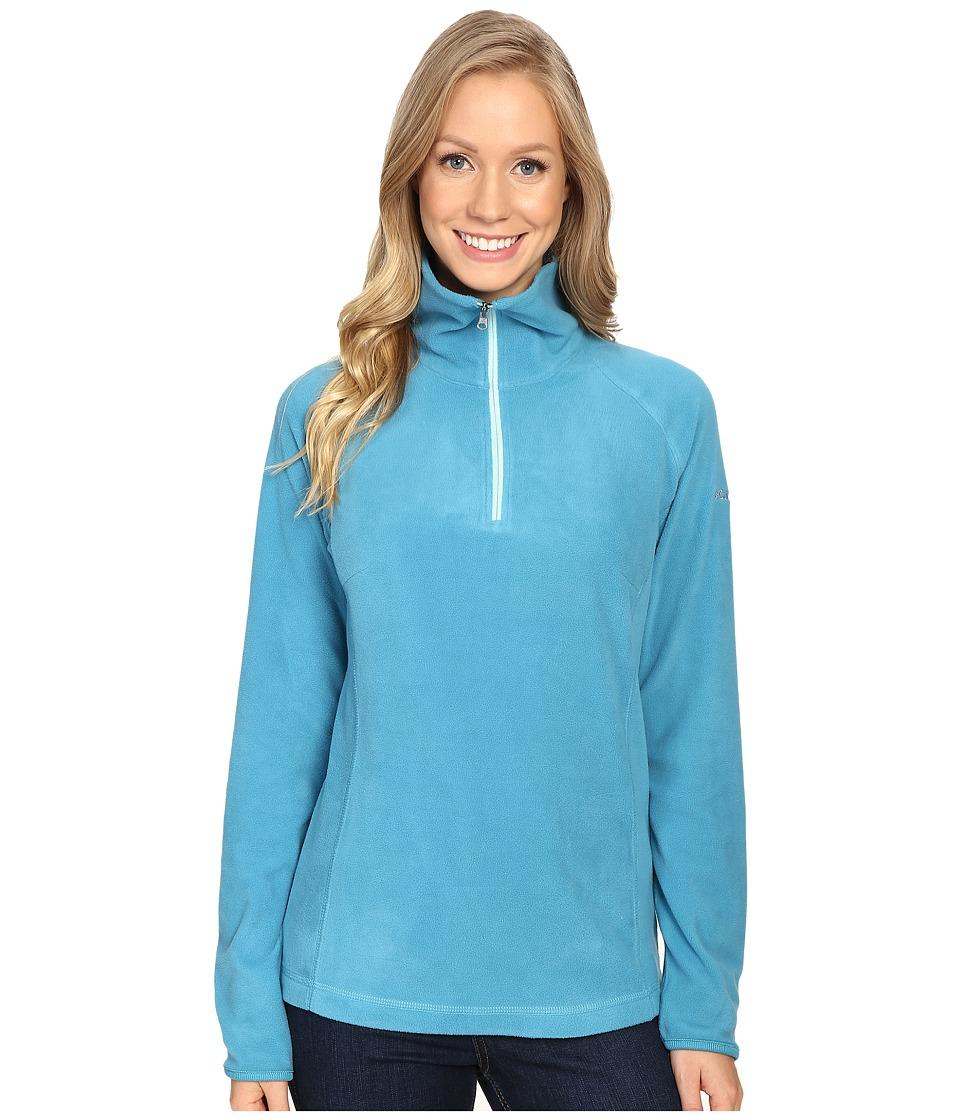 Columbia - Glacial Fleece III 1/2 Zip (Deep Marine) Women's Coat