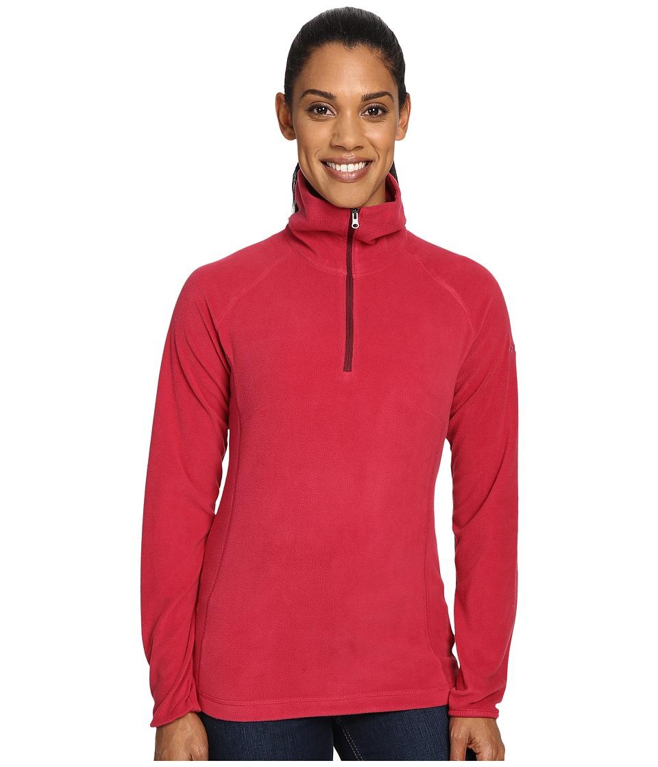 Columbia - Glacial Fleece III 1/2 Zip (Red Orchid) Women's Coat