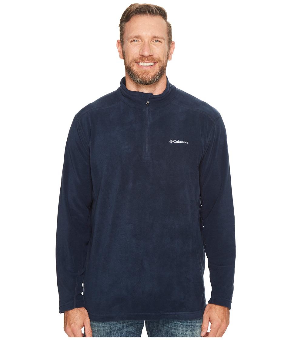 Columbia - Plus Size Klamath Rangetm II 1/2 Zip (Collegiate Navy Solid) Men's Coat