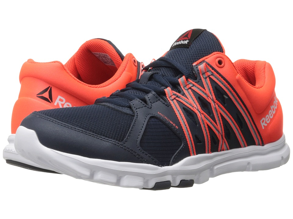 Reebok - Yourflex Train 8.0 L MT (Collegiate Navy/Atomic Red/White) Men's Cross Training Shoes
