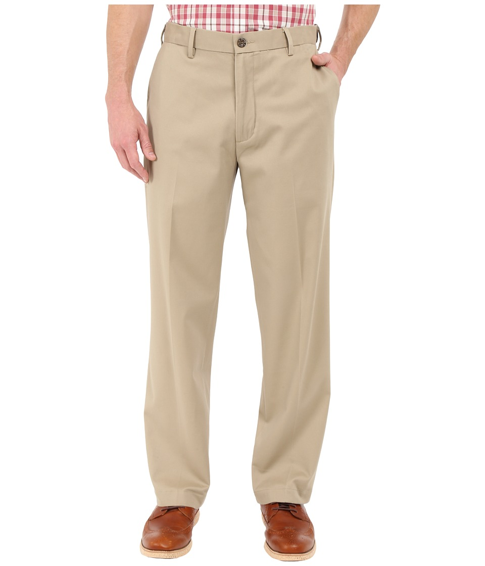 Dockers Men's - Comfort Khaki Upgraded Classic Flat Front (British Khaki) Men's Casual Pants