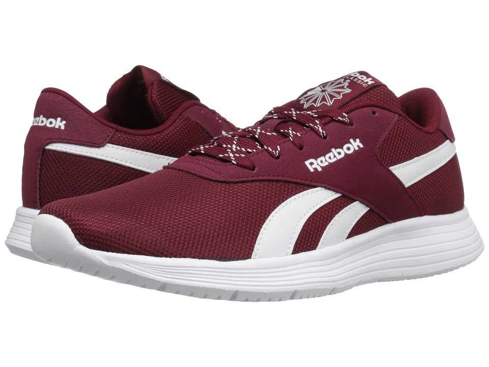Reebok - Royal EC Ride (Collegiate Burgundy/White) Men's Walking Shoes