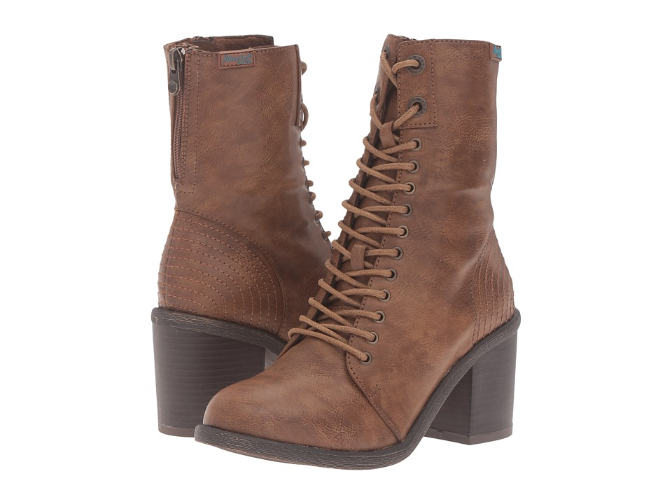 Blowfish - Mammer (Whiskey Old Ranger PU) Women's Lace-up Boots