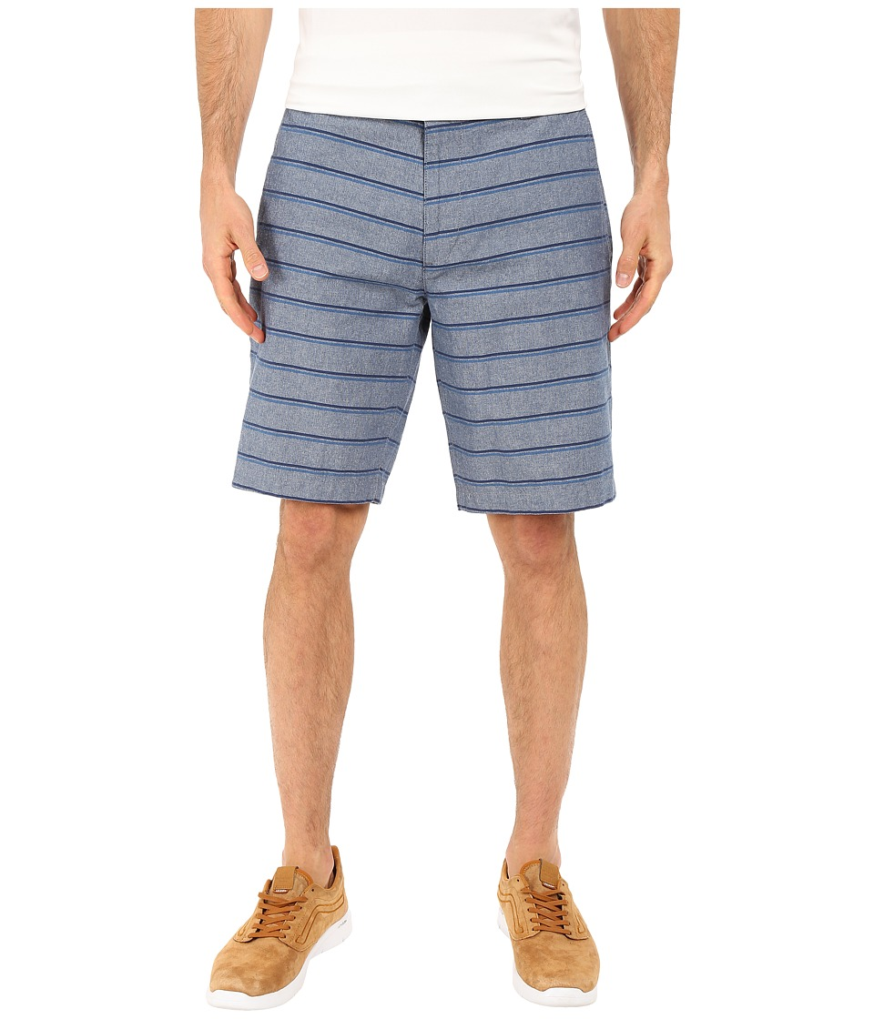 Dockers Men's - Perfect Short Classic Fit Flat Front (Colton A Blue-Ensign Blue) Men's Shorts