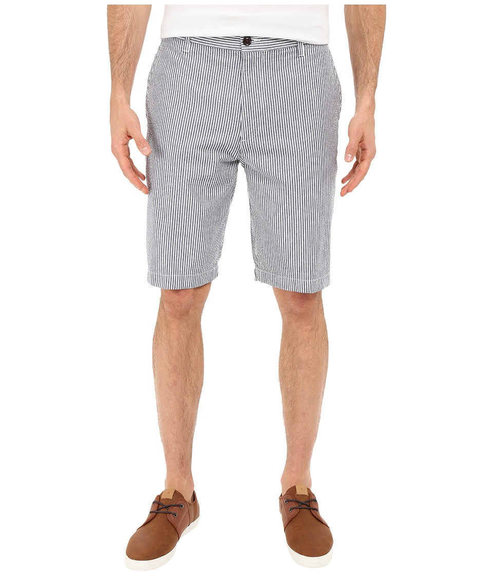 Dockers Men's - The Perfect Shorts Classic Flat Front (Ventura A-Medieval Blue) Men's Shorts